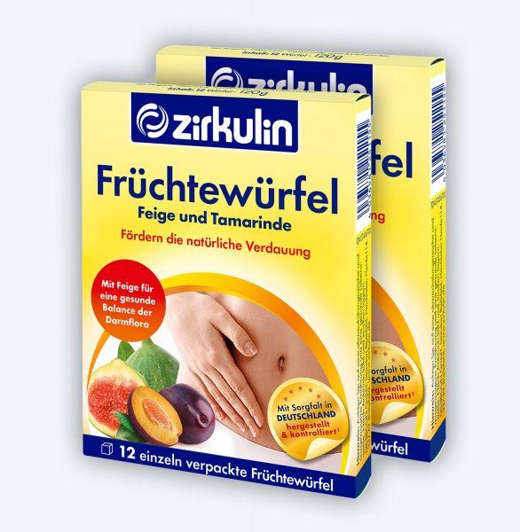 Zirkulin Früchtewürfel ▷ 2er Pack