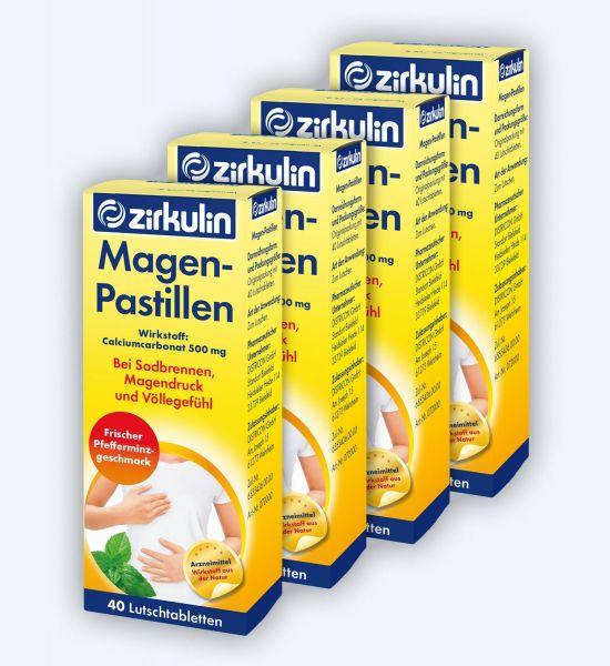 Zirkulin Magen-Pastillen 40 ▷ 4er Pack