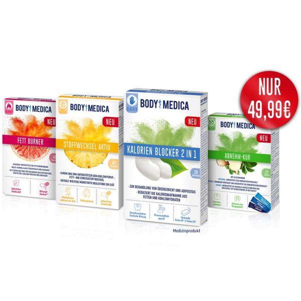 BodyMedica Gewichtsmanagement plus Stoffwechsel Aktiv im Set
