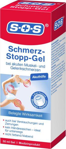 SOS Schmerz-Stopp-Gel