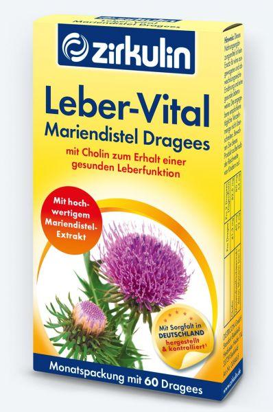 Zirkulin Leber-Vital Mariendistel-Dragees