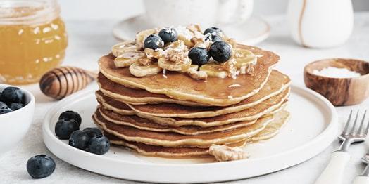 Pfannkuchen-mit-Hanf-Aromaextrakt