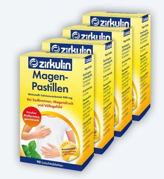 Zirkulin Magen-Pastillen 90 ▷ 4er Pack