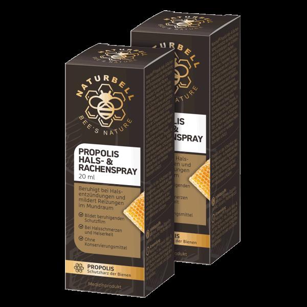 Naturbell Propolis Hals- & Rachenspray ▷ 2er Pack