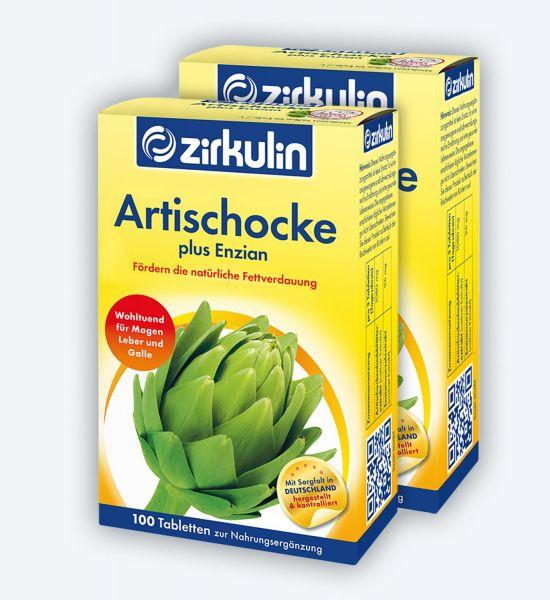Zirkulin Artischocke plus Enzian ▷ 2er Pack