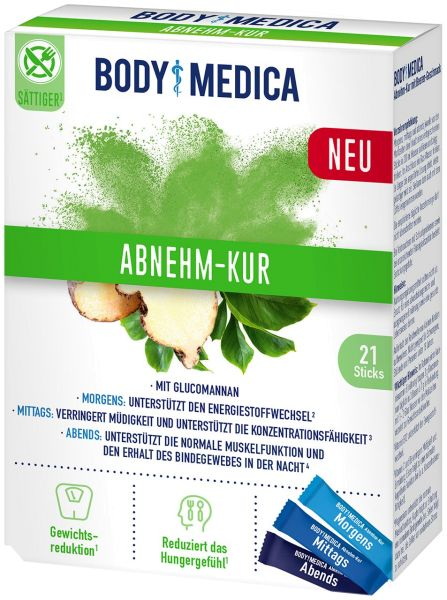 BodyMedica Abnehm-Kur mit Glucomannan