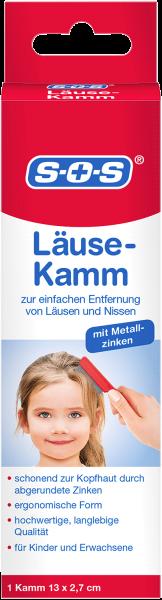 SOS Läuse-Kamm