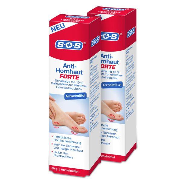 SOS Anti-Hornhaut FORTE (2er Pack)