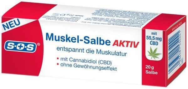 SOS Muskel-Salbe AKTIV mit CBD