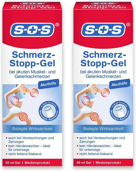 SOS Schmerz-Stopp-Gel ▷ 4er Pack