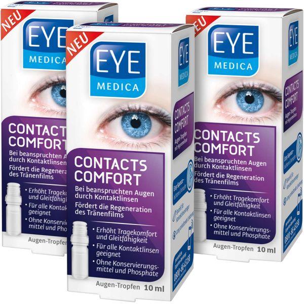 EyeMedica Contacts Comfort ▷ 3er Set